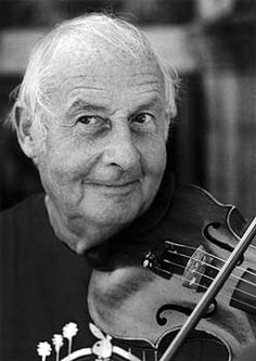 Stefane Grappeli (January 26, 1908 - December 1, 1997) French violinist (Hot Club de France).