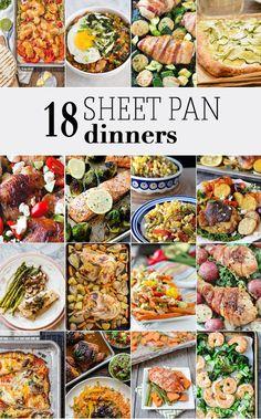 18 Sheet Pan Dinners | The Cookie Rookie | Bloglovin'