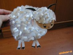 AKTIVITY S DĚTMI - Beránek Art Activities For Kids, Preschool Activities, Art For Kids, Sheep Crafts, Quilling, Kindergarten, Spring, Christmas, Bari