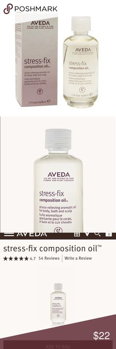 Aveda skincare Nourishing aromatic oil for body, bath and scalp with aroma proven to reduce feelings of stress. Aroma includes certified organic lavender, lavandin and clary sage and is formulated using the science of aromaology and the power of pure essential oils. • restore moisture and deliver instant radiance • soften and moisturize skin with a nourishing blend of certified organic sunflower and jojoba seed oils • 100% naturally derived* Brand new, sealed. Aveda Makeup Luminizer
