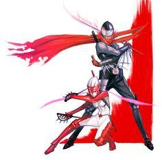 Hotsuma & Hibana - Shinobi fan art