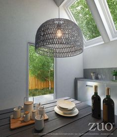 Shop for Paradise Grey Ceiling Lamp. Get free delivery at Overstock - Your Online Ceiling Lighting Store! Get in rewards with Club O! Dome Ceiling, Grey Ceiling, Ceiling Lights, Birdcage Light, Restauration Hardware, Lighting Store, House Lighting, Kitchen Lighting, Outdoor Pendant Lighting