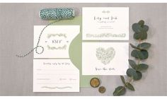 This beautiful stationery script by Strawberry Script is so modern and elegant - we love