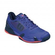 Wilson Rush Pro 2.5 WRS322610 tennisschoenen heren blue coral @wilsontennis #tennis #wilson #tennisschoenen