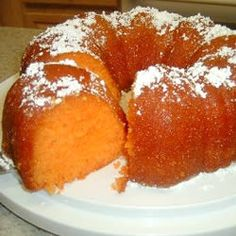 Orange Juice Cake (next time there's blood oranges or cuties)