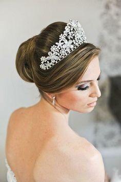 +70 Penteados para Noivas com Cabelo Preso – Penteados de Noiva