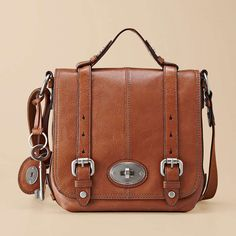 can't turn down a fossil bag. i have six. think that's too many?  maybe it's just the cute key that i like.