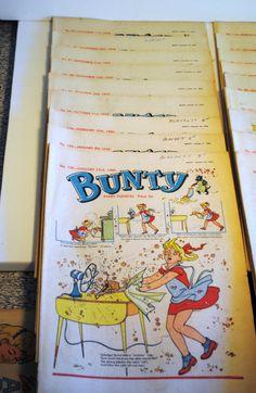 Vintage Bunty British / UK Comic / Large Lot by TabsVintageVault