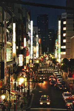 Tokyo by night, never sleeping....