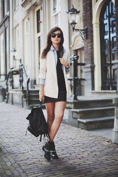 The always stylish Andy from Style Scrapbook #fashionblogger #streetstyle
