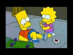 gif the simpsons simpsons lisa simpson lisa bart bart simpson season 6 lisa on ice fyspringfield Lisa Y Bart, Bart And Lisa Simpson, Cartoon Gifs, Cartoon Shows, Simpsons Springfield, Image Triste, Simpson Wave, Los Simsons, Simpsons Quotes