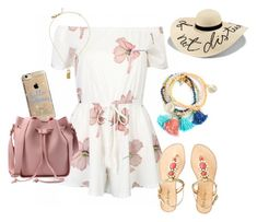 """""""Summer Loving Vibes!"""" by emma-oloughlin ❤ liked on Polyvore featuring Eugenia Kim, Kate Spade, Lilly Pulitzer and Agent 18"""