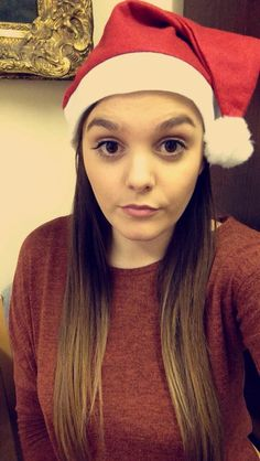 Thursday 8th December 2016: delighted to have to wear this Santa hat at work throughout December 🙈