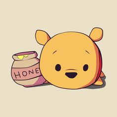 Disney Drawing Check out this awesome 'Winnie The Pooh' design on Cute Disney Drawings, Cute Animal Drawings, Kawaii Drawings, Cartoon Drawings, Cute Drawings, Kawaii Disney, Winnie The Pooh Drawing, Cute Winnie The Pooh, Winnie The Pooh Cartoon