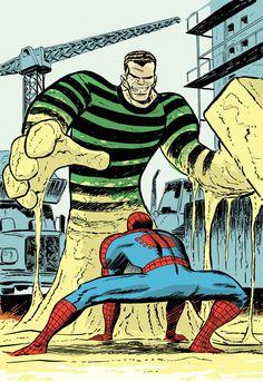 #Spiderman #Fan #Art. (Sandman Vs Spider-Man) By: Dan McDaid. (THE * 5 * STÅR * ÅWARD * OF: * AW YEAH, IT'S MAJOR ÅWESOMENESS!!!™)[THANK Ü 4 PINNING<·><]<©>ÅÅÅ+(OB4E)