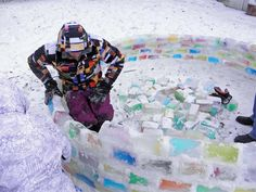 DIY: Colorful igloo in the backyard » Adorable Home