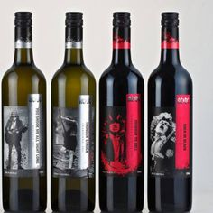 Rock legends AC/DC are gaining a different fan-base: wine lovers. The band created a line of wine with Warburn Estate in 2011 that was offered in Australia. It was supposed to be a one-time release, but the wines were so popular that they released a second vintage that's now available in the U.S. AC/DC wines have names you'd expect from the band, like Highway to Hell Cabernet Sauvignon, The Ultimate Rocker, Back in Black Shiraz, Thunderstruck Chardonnay, and Hells Bells Sauvignon Blanc…