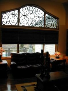 Front Windows High Windows And Wrought Iron On Pinterest