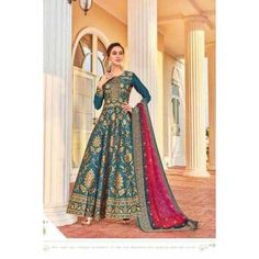 Buy Gowns - Discover the wide range of designer gowns online Designer Anarkali, Designer Gowns, Abaya Fashion, Women's Fashion Dresses, Salwar Kameez, Western Gown, Salwar Suits Online, Eid Dresses, Indian
