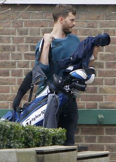Pin for Later: Spotted! Jamie Dornan Looking Just as Hot as When We Left Him