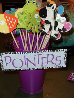 How Cute??? A great way to keep students interested in what you are pointing at!