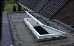 Alle rijtjeshuizen hebben een plat dak, mogelijkheden tot bijvoorbeeld dakramen kunnen goed gebruikt worden. -Erik