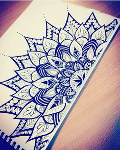 40 Beautiful Mandala Drawing Information & Ideas 40 Beautiful Mandala Drawing Ideas & Inspiration – Brighter Craft Need some drawing inspiration? Here's a list of 40 beautiful Mandala drawing ideas and inspiration. Why not check out this Art Drawing Set Mandala Tattoo, Tattoos, Pen Art, Art Drawings, Art Tattoo, Doodle Art, Mandala, Mandala Design Art, Zentangle
