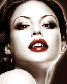 Josie Maran vampire morph manip... check it out: http://www.pinterest.com/meldarfranny/boards/