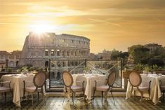 Aroma Restaurant is one of the finest dining experiences in Rome center. With an extraordinary view on Colosseum, Aroma Restaurant is the place to be in Rome.