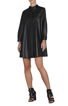 BCBGMAXAZRIA Emilee Long-Sleeve Dress | BCBG.com