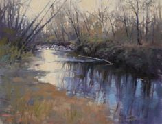 Barbara Jaenicke - Afternoon Refuge- Oil - Painting entry - February 2013 | BoldBrush Painting Competition