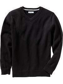 Boys Uniform V-Neck Sweaters