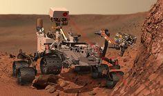 la sonda Curiosity ha trovato tracce d'acqua su Marte.