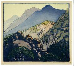 Frances Hammell Gearhart   (American, 1869 -1958) Sundown