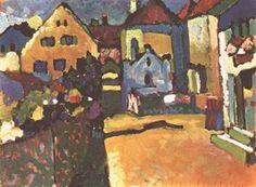 Wassily Kandinsky - Grüngasse in Murnau