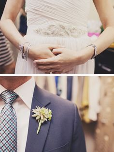 Love the succulent boutonniere !!