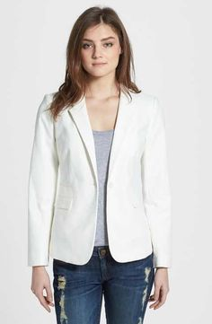 Because every woman worth her weight in Susan B's needs a white blazer!