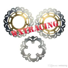 Wholesale Motorcycle Brakes - Buy Full Set Front And Rear Brake Disc Rotor For YAMAHA FZ1 1000 2006 2007 2008 2009 2010 2011 Gold, $209.43   DHgate