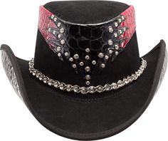 DeVille Western Hat, blinged by Ruby Roxanne Designs for American Hat Makers. www.americanhatmakers.com