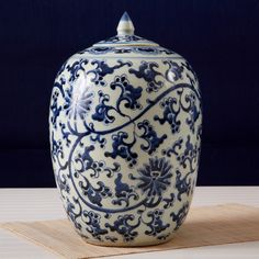 Lotus Ginger Pot © Two's Company