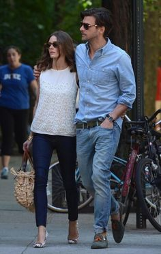 Looking back on Olivia Palermo Style Summer Cool Style Olivia Palermo, Olivia Palermo Lookbook, Fashion In, Fashion Couple, Fashion Trends, Couple Outfits, Casual Outfits, Moda Australiana, Stylish Couple
