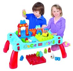 7 Kids and Us: Mega Bloks Play n Go Table is 50% off! $24.97 and ...