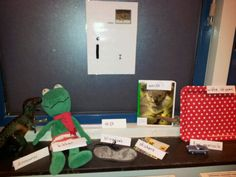 De Spreekhoorn Breda, groep 2:De Kinderen brengen spullen mee van thuis of zoeken in de klas maar materiaal waarin de letter te horen is : fonemisch bewustzijn