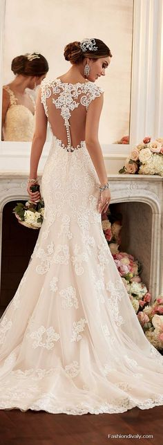 Stella York Wedding Dress 2018 - New Collections Designer Wedding Dress Tulle and Lace Wedding Dress (74)