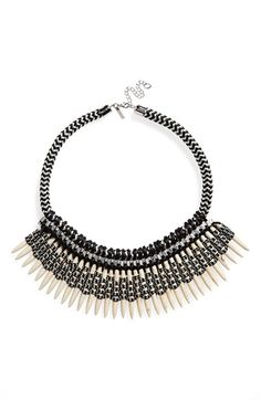 Topshop Statement Collar Necklace available at #Nordstrom