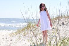 white pillowcase dress. via Etsy.