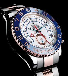 classyandsuch: A classy Rolex Yacht Master II
