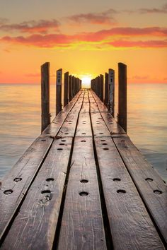 The Boat Ramp by Bruce Aspley ponton Sky Sunset, Landscape Photography, Nature Photography, Beautiful Places, Beautiful Pictures, Wonderful Places, Beautiful Sunrise, Belle Photo, Cool Photos