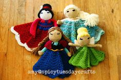 spicy tuesday crafts: My notes for the Pretty Princess Lovey pattern - Round 2