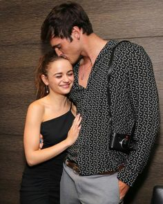 Joey King Gets Support from Jacob Elordi at 'Slender Man' Screening! Cute Celebrities, Celebs, King Jacob, Noah Flynn, Films Netflix, Kissing Booth, Movie Couples, Cute Actors, Cute Relationship Goals
